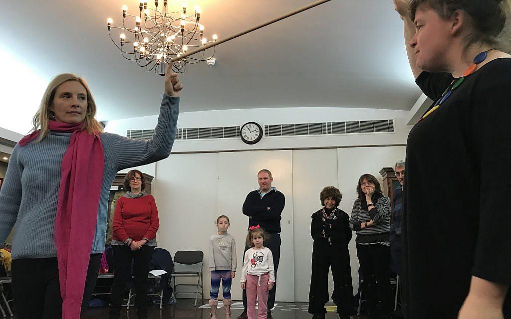 Workshop at the Bevis Marks synagogue