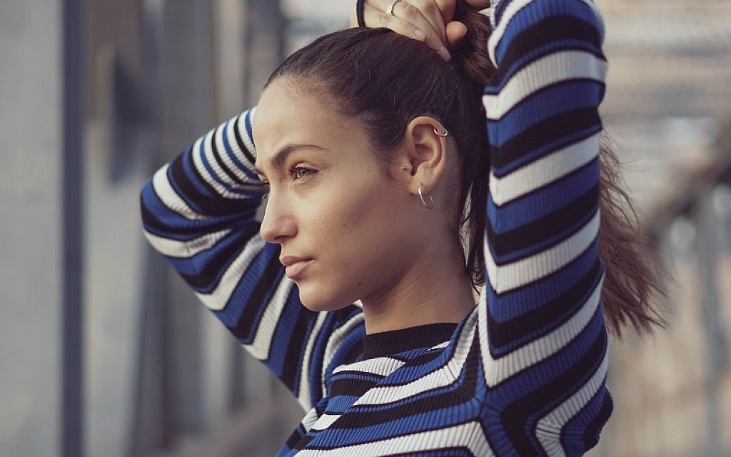 Portrait of model Inbar Yakobi. Credit: Jonny Baker