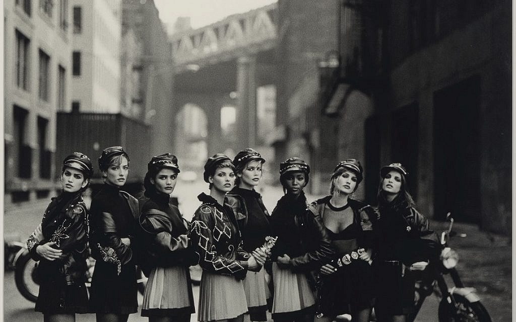 Biker Girls, published in American Vogue in 1991, by Peter Lindbergh