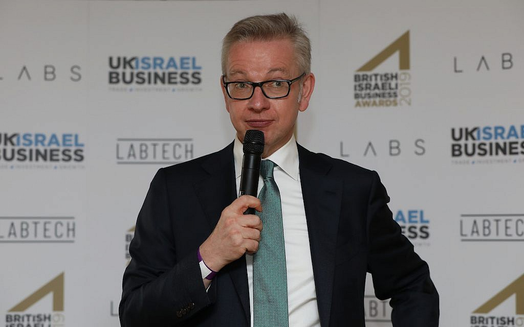 Michael Gove: Antisemitism 'now finds a home in British politics'