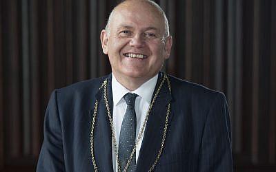 The Lord Provost of Aberdeen, Barney Crockett
