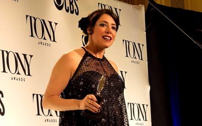 Rachel Chavkin at the Tony Awards (Youtube screenshot)
