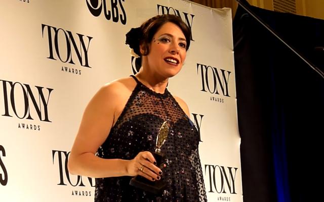 Rachel Chavkin at the Tony Awards (Youtube screenshot)