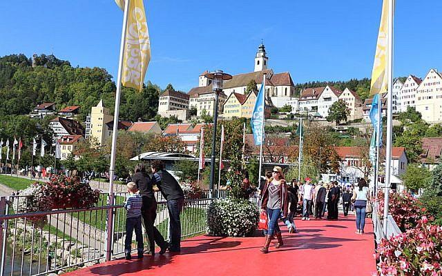 Skyline of Horb am Neckar (Wikipedia)