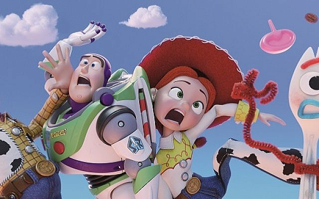 Tom Hanks, Tim Allen and Joan Cusack return as the voices of Woody, Buzz and Jessie, with comedian Tony Hale as Forky in Toy Story 4