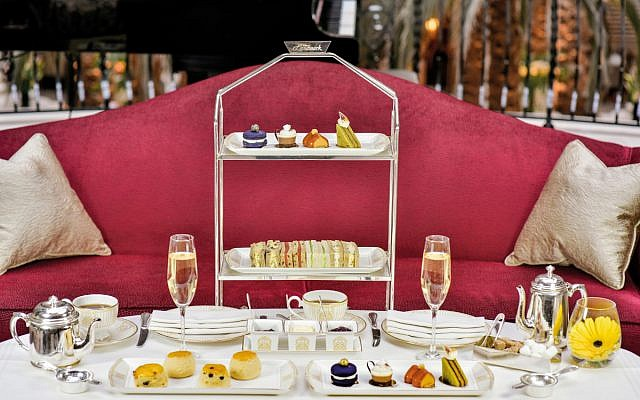 The Landmark London - Afternoon tea