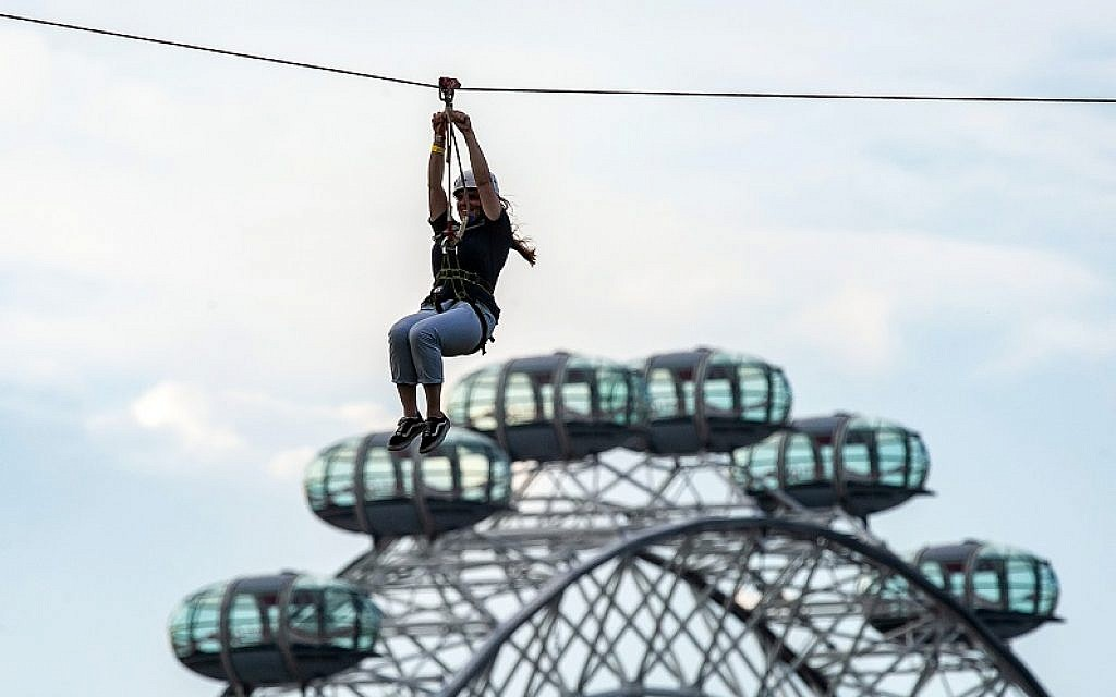 Zip Now London returns bigger and faster than before, with views of London's skyline, including the Houses of Parliament, the London Eye and the Shard