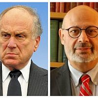 Ronald Lauder and Joel Lion