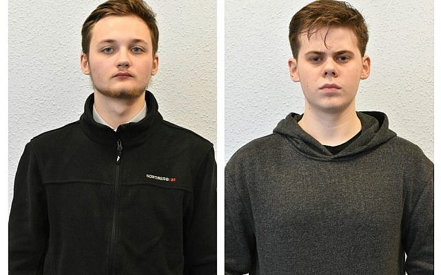 Michal Szewczuk, 19, who has been jailed for four years and three months and Oskar Dunn-Koczorowski, 18, who has been handed an 18-month detention and training order. Photo credit: West Yorkshire Police/PA Wire