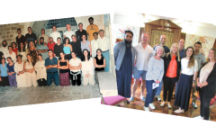 Then and now: The interfaith group come together 20 years apart.