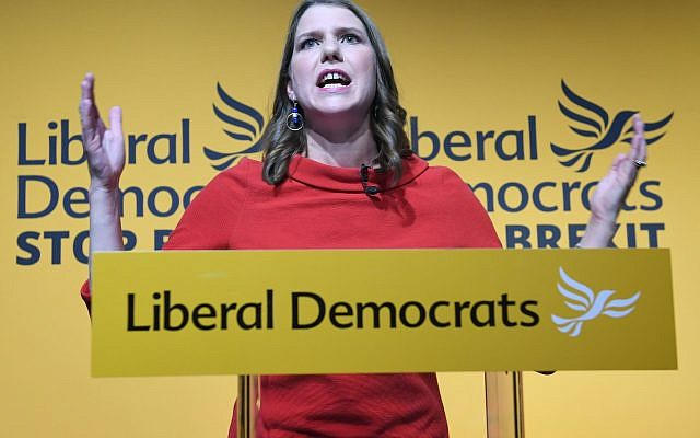 Jo Swinson (Photo credit: Stefan Rousseau/PA Wire)