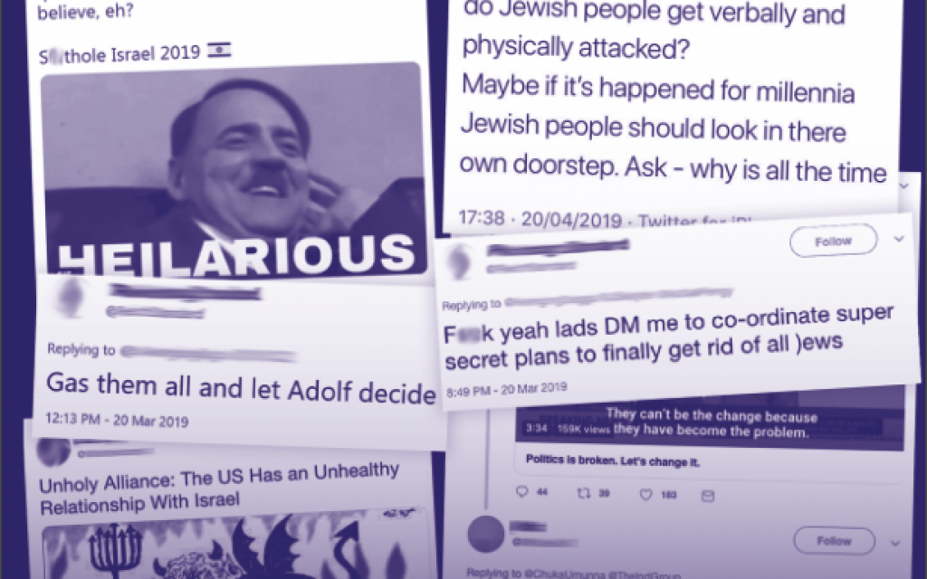 Antisemitism report from the CST, January-June 2019
