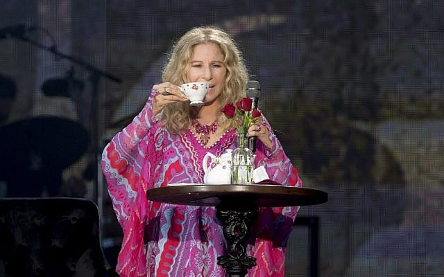Barbra Streisand performs during Barclaycard Presents British Summer Time Hyde Park. Credit: Dave J Hogan/Getty Images