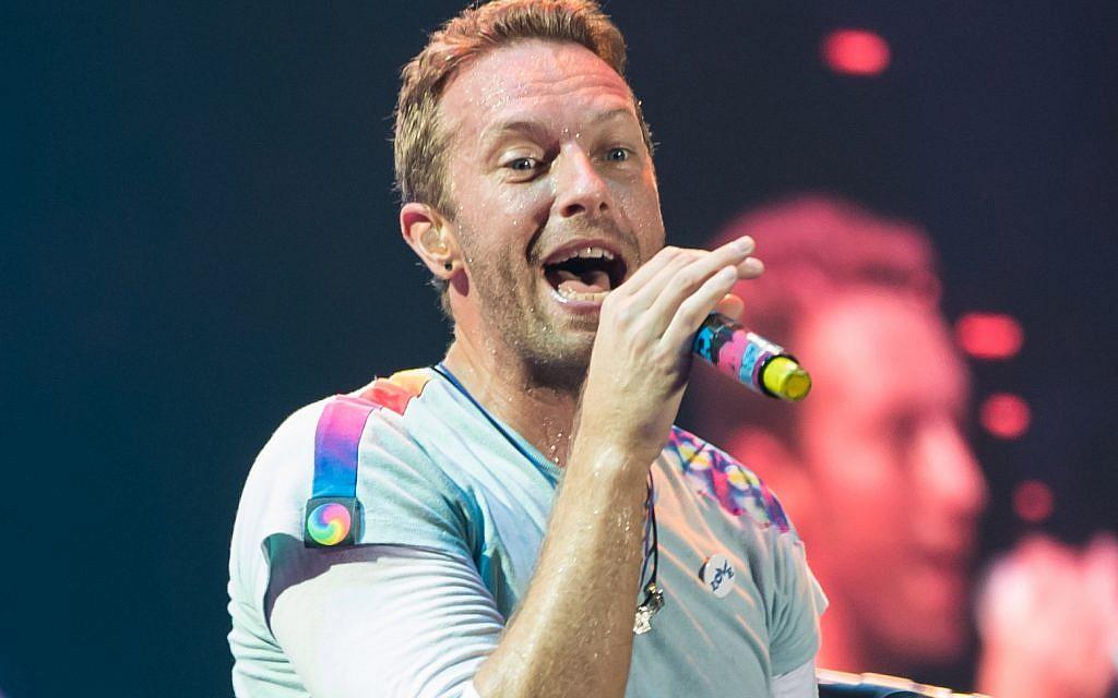 Coldplay's Chris Martin visits Israeli coexistence kindergarten