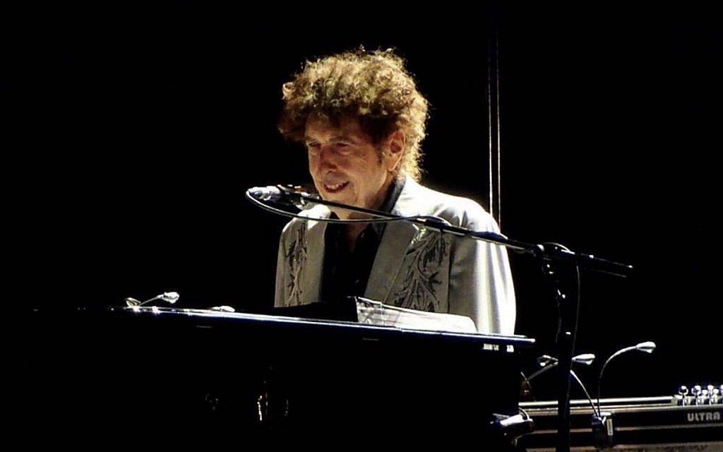 Bob Dylan captivates the 65,000-strong crowd in Hyde Park.