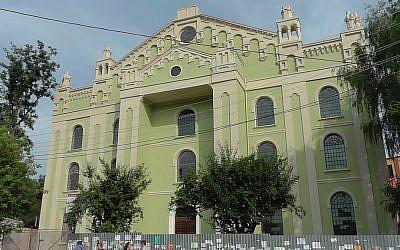 Choral Synagogue in Drohobych, Ukraine. (Wikipedia/V chekhov)