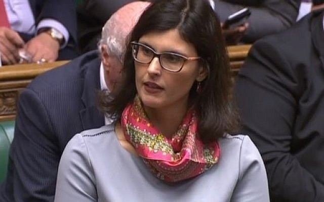 Layla Moran in the Commons