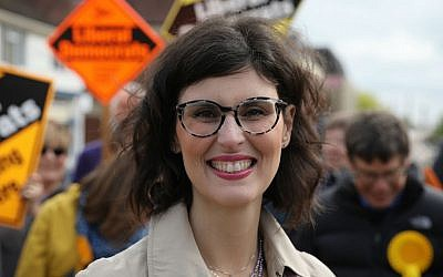 Layla Moran on the campaign trail
