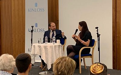 Luciana Berger in conversation with Richard Verber at Kinloss