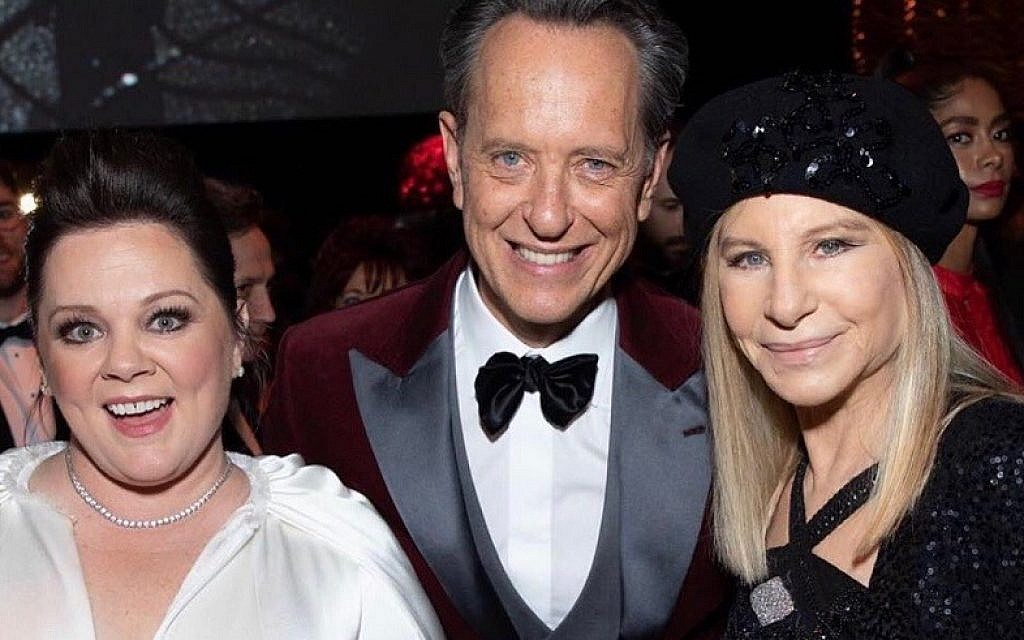 Richard E Grant met Barbra Streisand at the Oscars earlier this year, with Melissa McCarthy