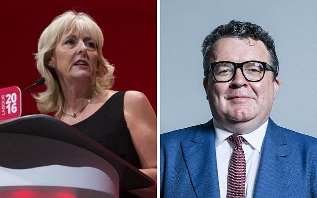 Jennie Formby hits out at Tom Watson amid Labour feuding