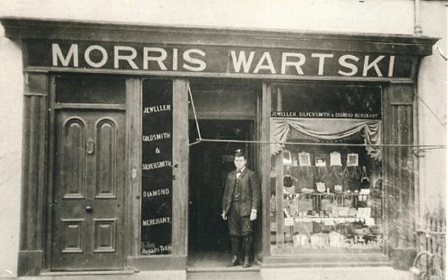 The Wartski family shop in Bangor
