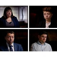 Top: Kat Buckingham, Head of Disputes and Discipline 2015 - 2017 and Louise Withers Green, Disputes Officer 2017-2018. Bottom: Baron Iain McNicol, General Secretary of the Labour Party 2011-2018, Dan Hogan, Investigations Officer 2016-2018