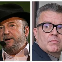 George Galloway and Tom Watson