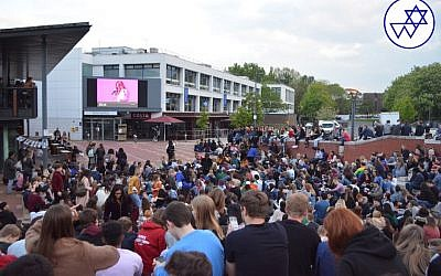 More than 1000 attended the Eurovision Party