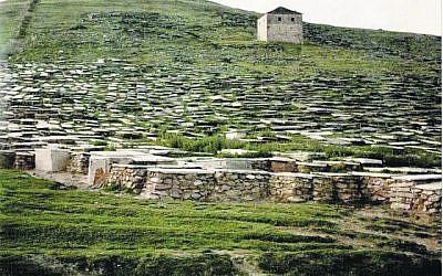 The Jewish cemetery in Macedonia
