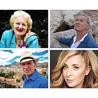 Baroness Rabbi Neuberger, Sir Simon Schama, Simon Sebag Montefiore and Tracy Ann Oberman
