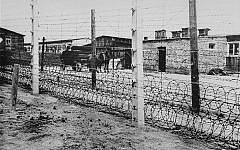 Fence at Flossenbürg concentration camp