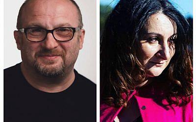 David Bright and Claire Silverstone