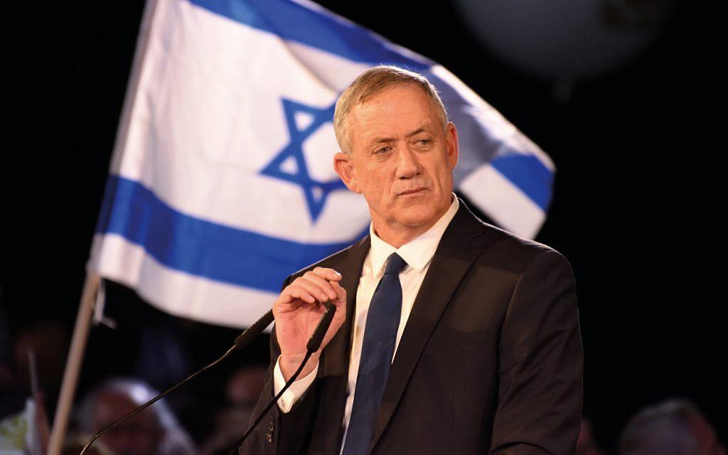 Gantz warns Knesset speaker he may be replaced over Netanyahu immunity vote