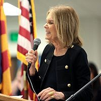 Gloria Steinem (Wikipedia/Gage Skidmore (https://www.flickr.com/photos/gageskidmore)