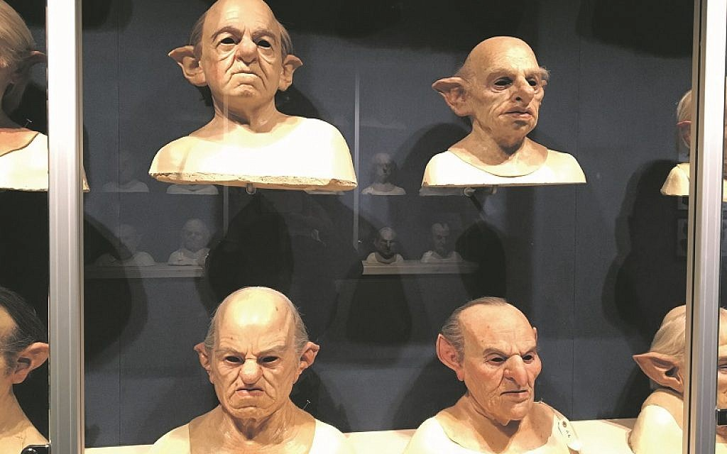 Goblin masks made from silicon