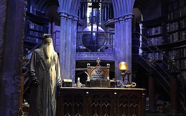 Inside Professor Dumbledore's study