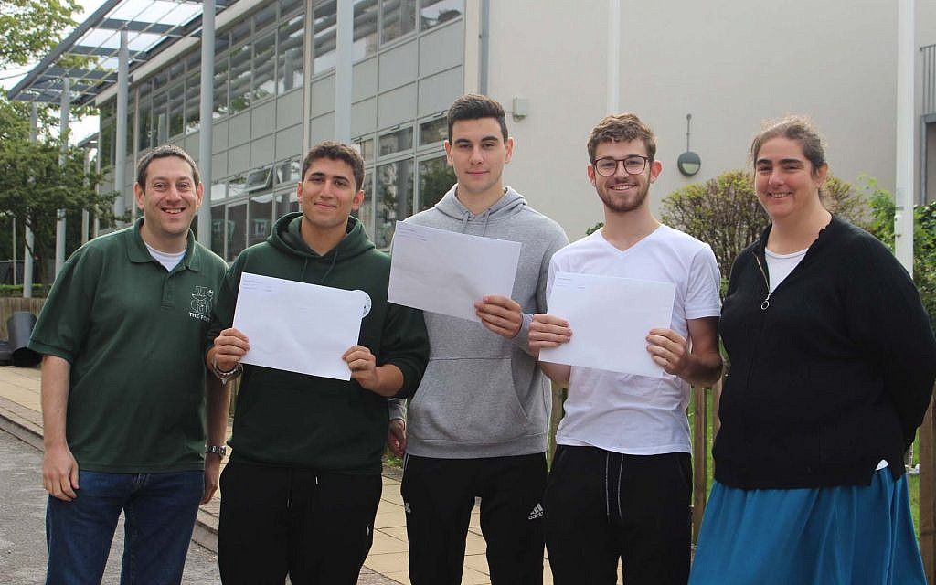 Immanuel College students get their A-Level results!