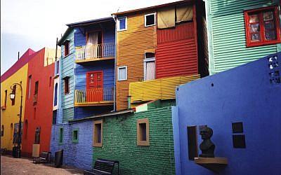 La Boca, Buenos Aires, Argentina. (Wikipedia/Ester Inbar - http://commons.wikimedia.org/wiki/User:ST)