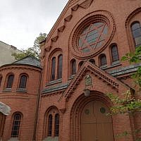 Pestalozzi Strasse synagogue in Berlin
