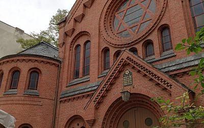 Pestalozzi Strasse synagogue in Berlin