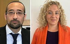 Yosef David, left, and Julie Pelta, right (credit: Brexit Party)