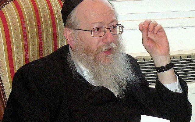 Yaakov Litzman (wikipedia/REUVEN FRIZI)