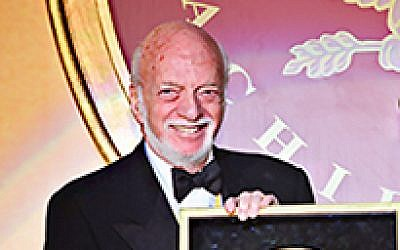 Broadway director Harold Prince receives the Golden Plate award at the American Academy of Achievement's 46th annual International Achievement Summit in Washington, D.C. on Saturday, June 23, 2007. (Wikipedia/ Author: Academy of Achievement)