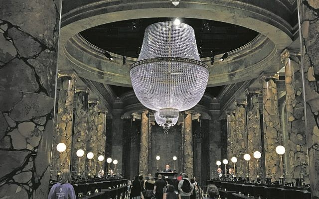 The magnificent Gringotts Wizarding Bank