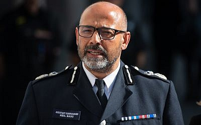 Metropolitan Police Assistant Commissioner Neil Basu. (Photo credit: Dominic Lipinski/PA Wire)