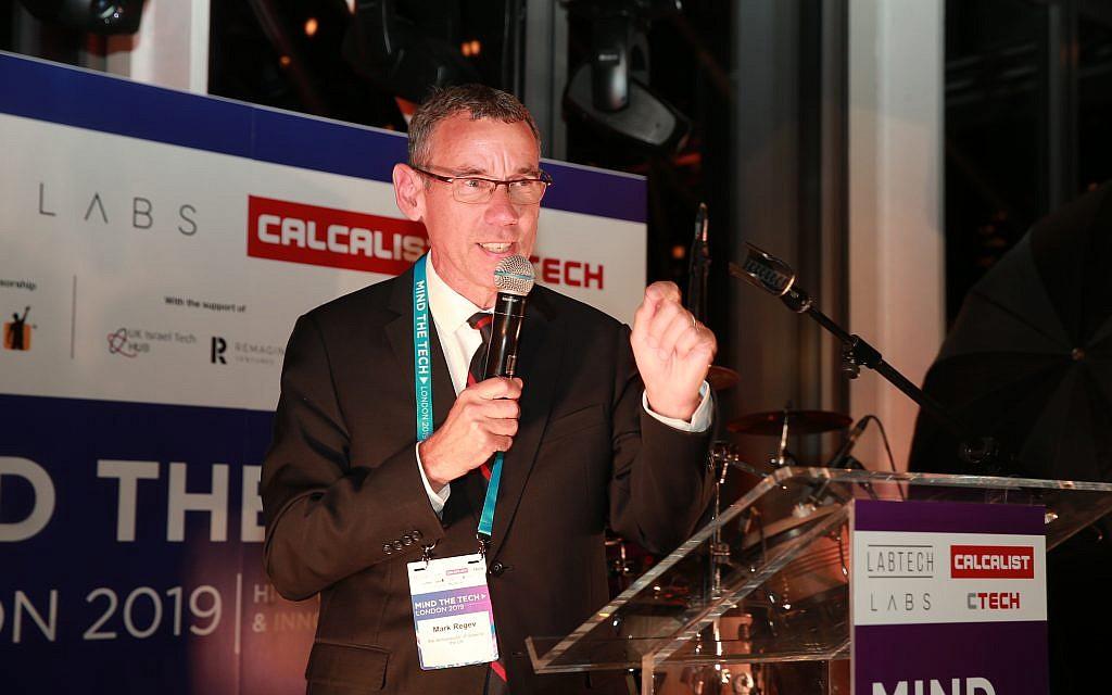 Mark Regev, Israeli Ambassador to the UK at Mind the tech, Calcalist conference 2019