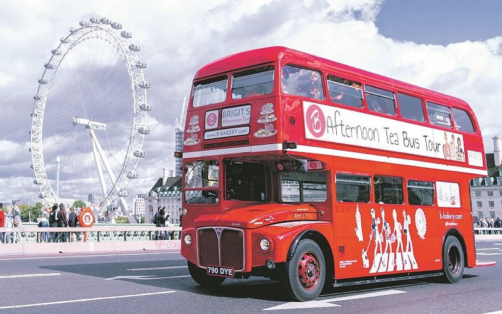 Win a trip for two aboard the iconic Brigit's Bakery Afternoon Tea Bus!