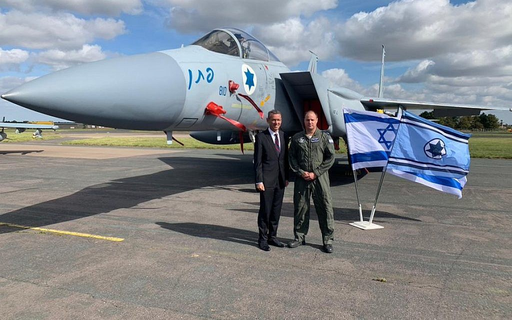 IAF and RAF pilots train over UK skies as Regev welcomes 'important cooperation'