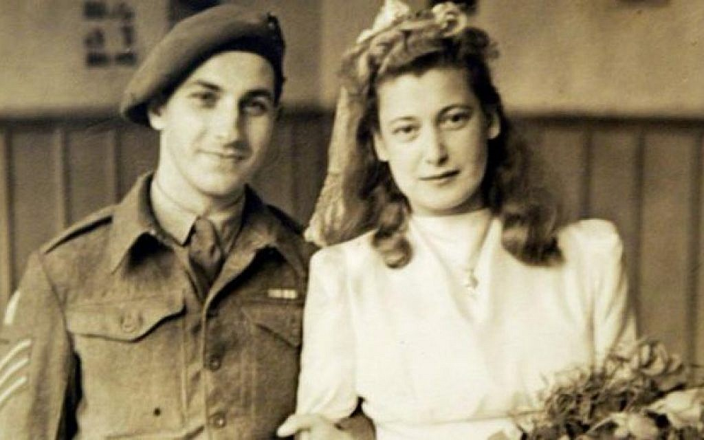 Gena Turgel with her husband Norman